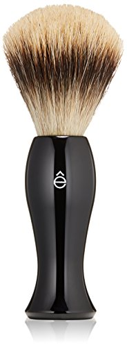êShave Badger Hair Shaving Brush, Black