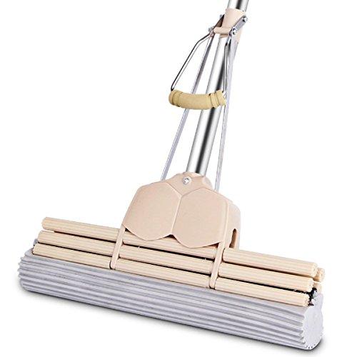 GAOJIAN Roller Leim Baumwolle Mop Haushalt Edelstahl Handwäsche Freie absorbierende Schwamm Mop