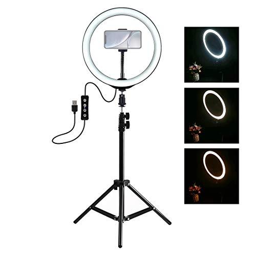 LWL House 1,1 m Stativbefestigung + 10 Zoll LED-Ring Vlogging-Videoleuchte Live-Broadcast-Kits Gute Qualität Broadcast-kit