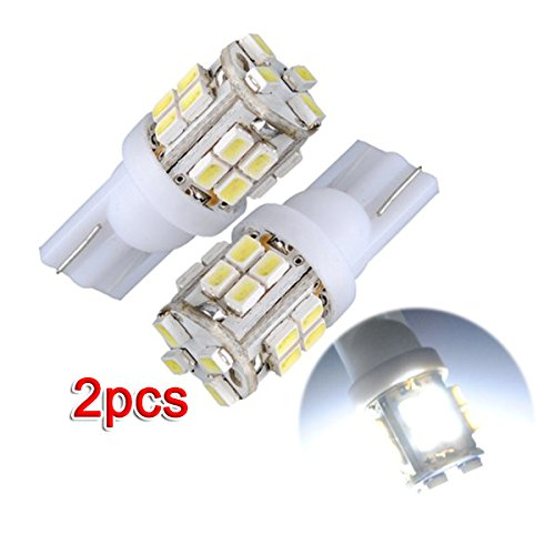 2x T10 501 W5W Veilleuse 20 LED 1210 SMD Blanc Xenon Voiture Ampoule Lampe lumiere