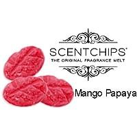 SCENTCHIPS Duftwachs Aroma Wachs Blätter 3 Stück ~ MANGO PAPAYA ~ preisvergleich bei billige-tabletten.eu