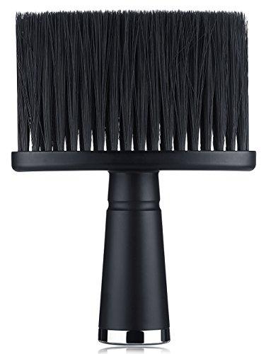 Pennello spolverino da barbiere per rimuovere i capelli da viso e collo dopo il taglio