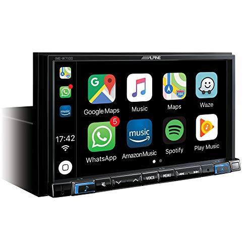 Alpine Electronics INE-W710D 2DIN Navigationssystem mit DAB (Kanal 2 News)
