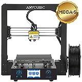 ANYCUBIC MEGA-S 3D Drucker mit Guter Qualität, neuem Extruder, Stabilen Vollmetall-Rahmen und Ultrabase Heizbett für 1,75 mm Filamente TPU, PLA, ABS geeignet