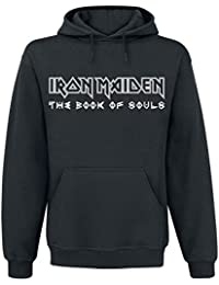 Iron Maiden Ed Heart Sweat à capuche noir