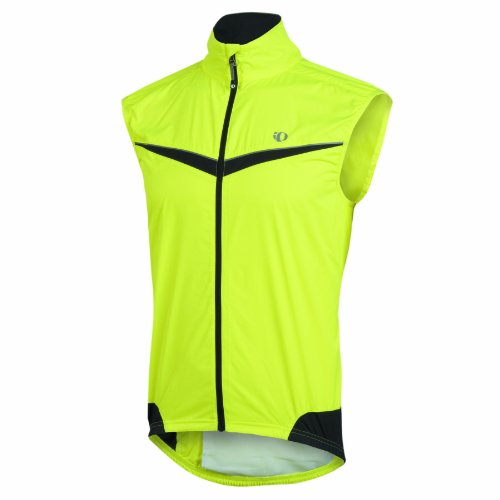 PEARL IZUMI Herren Fahrrad Weste Elite Barrier, screaming yellow/white, S, P11131016