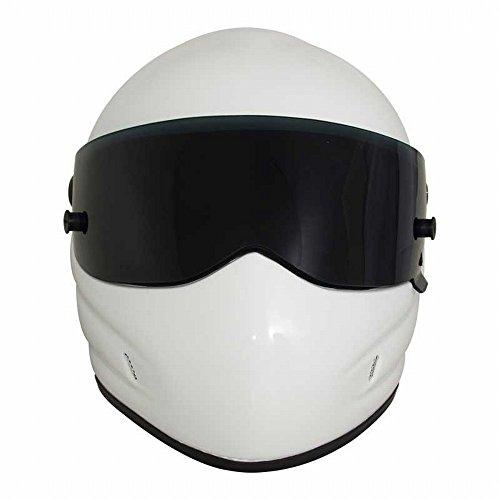 GUO Casco da Motociclista Casco Integrale Star Wars Helmet Frp,Bianca,XL