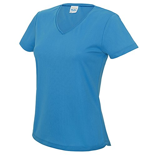 AWDis - T-shirt - Moderne - Femme Bleu Saphir