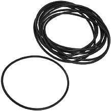 125 mm x 4 mm negro de goma de nitrilo que contiene juntas tóricas NBR sellos