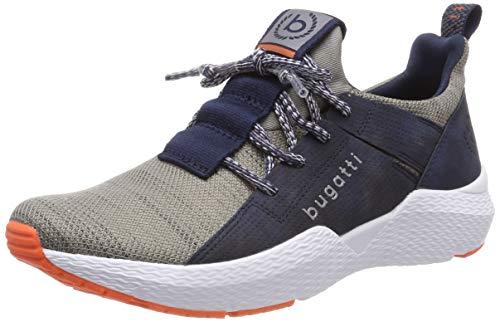 bugatti Herren 341730616900 Slip On Sneaker, Blau, 40 EU