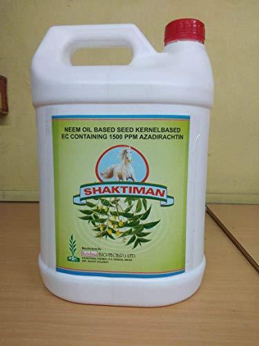 SAKTRIMAN 4411 Organic 1 L Neem Oil Pesticide Emulsified