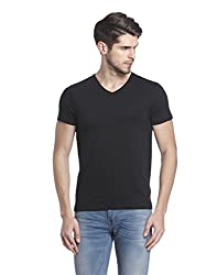 Jack & Jones Mens T-Shirt (5713611630966_12126026_ X-Large_Black)