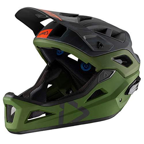 Leatt - Casco DBX 3.0 Enduro-Verde Forest M 55-59 cm Adulto Unisex