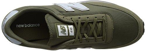 New Balance Unisex Erwachsene U410v1 Sneaker Grün (Green/grey)