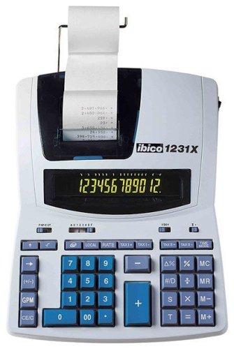 Rexel - Ibico 1231X Calculatrice Imprimante