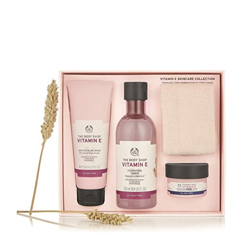 Die Body Shop Vitamin E Hautpflege Geschenkset / The Body Shop Vitamin E Skincare Gift Set