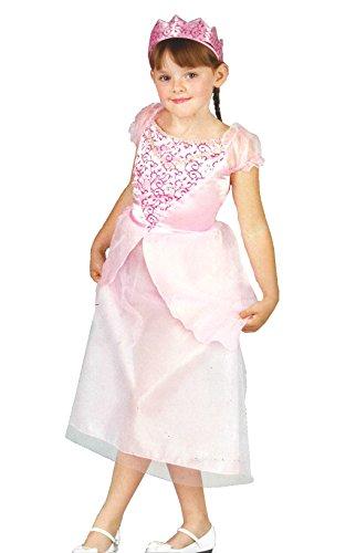 tüm Fasching Karneval Mädchen rosa Verkleidung Krone (104) ()