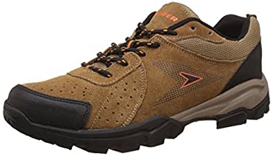 Power Men's 32 Sports Tan and Light Brown Running Shoes - 7 UK/India (41 EU)(8333096)