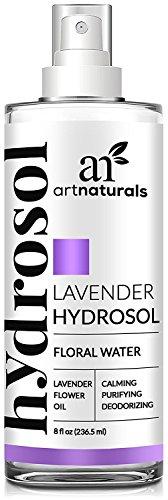 Art Naturals Huile Essentielle de Lavande Spray d'Eau Florale Hydrosol - (8 FL oz / 236ml)