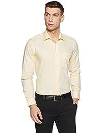 Van Heusen Men's Solid Slim Fit Formal Shirt - B07BHC2QRQ