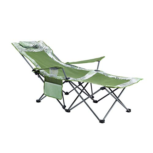 Vimelo Mittagsbett Büro-Nickerchen Klappbett Liege Bett Siesta Einzelbett im Freien Marschieren Bett Outdoor-Ausstattung Einfache Möbel Strandkorb Klappstuhl