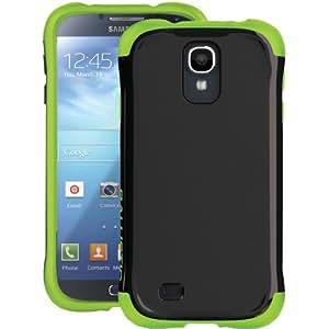 Ballistic AP1156 - A005 Aspira Case for Samsung Galaxy S4 - 1 Pack - Retail Packaging - Black/Green