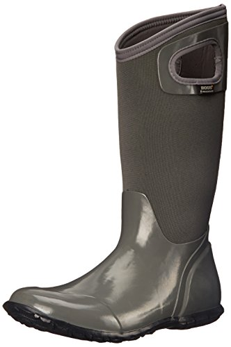 Bogs North Hampton Solid Womens Wellies Grey