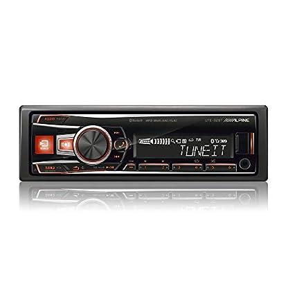 Alpine-Electronics-UTE-92BT-Autoradio-Bluetooth-1DIN-Schwarz-RGB-Beleuchtung