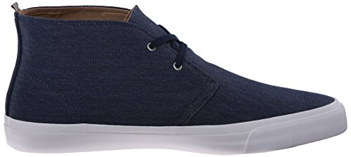 Fred Perry Vernon Mid Waxed Canvas Carbon Blue Bleu
