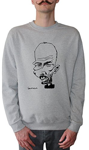 mister-merchandise-homme-sweatshirt-pep-josep-guardiola-karikatur-pull-sweat-men-taille-xxl-couleur-