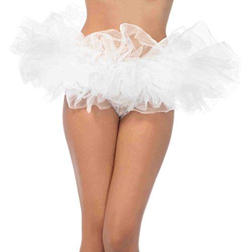 tüm Halloween Special Tutu Petticoat weiß (Frauen Paare Halloween-kostüme)