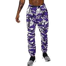 Cinnamou Camuflaje Pantalones Deportivos De Acampada Y Marcha para Hombre  Pants De Fitness para Hombre PantalóN fbe7d82b0f35