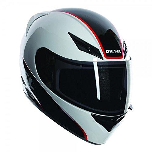AGV Nuevo 2015 Diesel Full-Jack Logo Blanco casco/Rojo/Negro M Logo Weiß/Schwarz/Rot