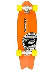 Osprey Stripey Skateboard Orange