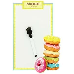 Paris -Memo Tableau Magnet Cuisine Donuts Gourmand Confiserie