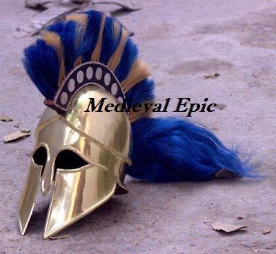 Medieval Epic Knight Casco corintio, Estilo Griego