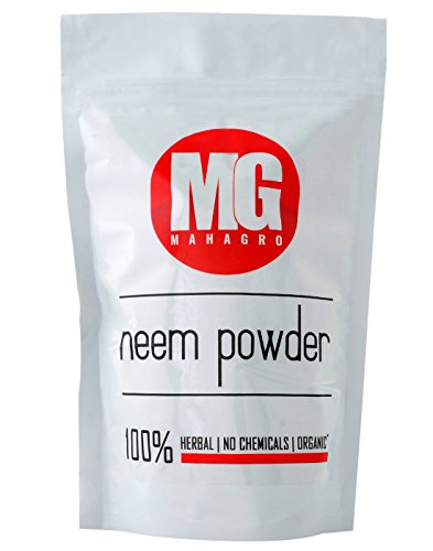 MahaGro Organic Neem Powder- 200 g (No Chemicals)