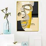jzxjzx Photographie d'art Noir et Blanc caractère beauté Masque Salon Peinture décorative Noyau 7 50x80cm