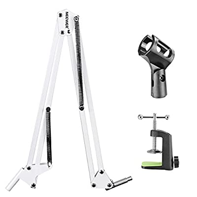 """NEEWER Broadcasting Studio Microphone Suspension Boom Scissor Arm stand, Extended up to 80cm (31.5"""")"""