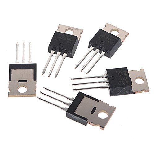 BMES 5 Pcs x IRFZ44N N-Channel MOSFET TO220 for Electronic Projects