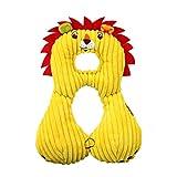 Wildlead Oreiller de Cou pour bébé et Enfant, appuie-tête de Voyage pour siège de Voiture Coussin de Poussette, Lion