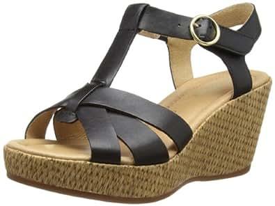 Gabor Shoes Gabor Comfort 82.842.57 Damen Clogs & Pantoletten, Schwarz (schwarz (gold)), EU 37 (UK 4) (US 6.5)