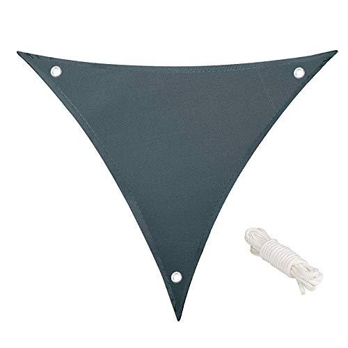 Shang gu Dreieck Sonnensegel, wasserdicht Matratze waschbar dreieckige Größe 3.6 X 3.6 X 3.6 Meter...