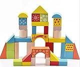 #5: Mayatra's Wooden Blocks For Kids (38PC)