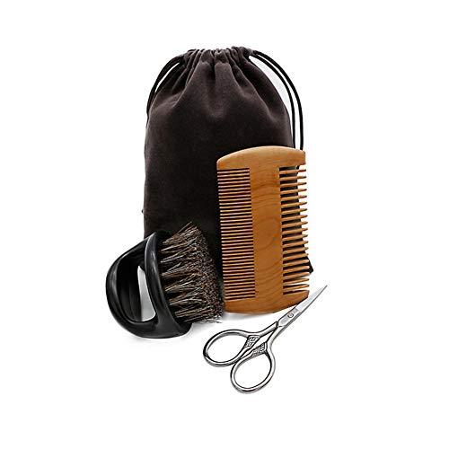 Adminitto88 - Kit de Cepillo para Barba y Barba