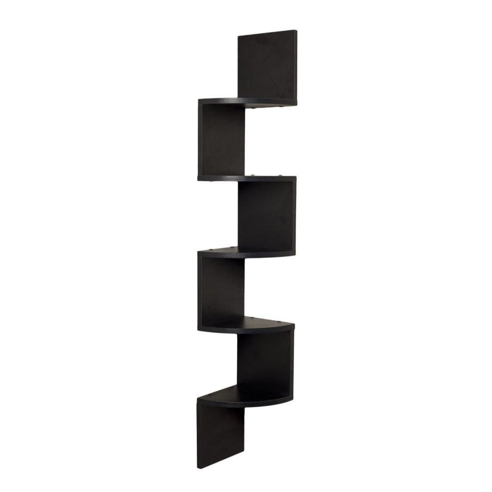 danya b corner zig zag wall shelf amazoncouk kitchen  home -
