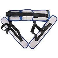 juman634 Cinturón de Transferencia con bucles parapiernas Dispositivo de Asistencia de Seguridad para Marcha de enfermería de Salud Ayudas para el Entrenamiento físico