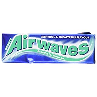 Wrigley's Airwaves Menthol And Eucalyptus Flavour Gum, 14g