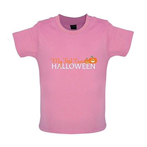 Mein erstes Halloween - Baby T-Shirt - Bubble-Gum-Pink - 18 bis 24 (Halloween Gum Bubble Kostüme)