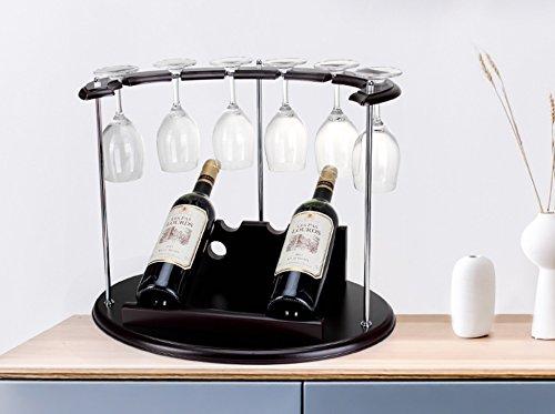 POPA flaschenregal Weinglasregal, Regal Weinglashalter, Weinglasregal, Sektglasregal, Glasregal Weinregal, Glasregal, Glaswaren Weinregal, weinständer (Farbe : C)